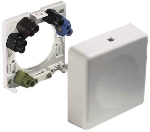 ABL Sursum Geräte-Anschlußdose weiß UP/AP 2505110