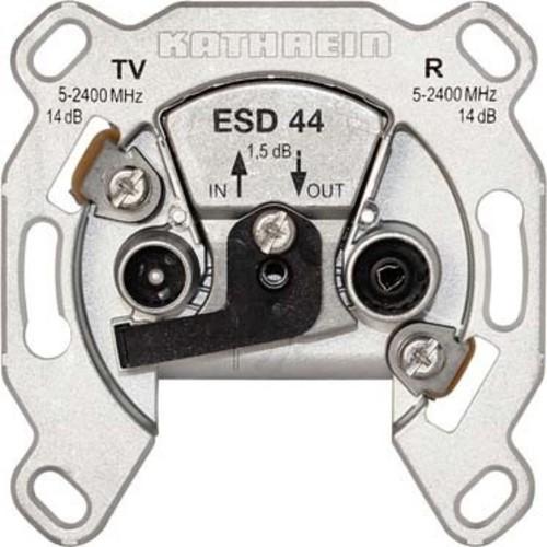 Kathrein BK-Steckdose 2-fach ch Durchschleifdose ESD 44