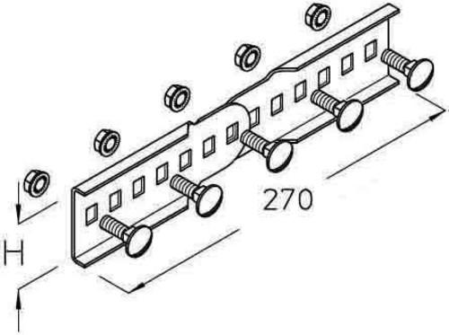 PohlCon Vertrieb (Puk) Leiterverbinder vertikal Brandschutz LGVV 60F