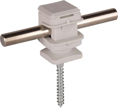 DEHN Leitungshalter grau H 16mm f. Rd 8mm LH DS 8 H16 HS5X50GR