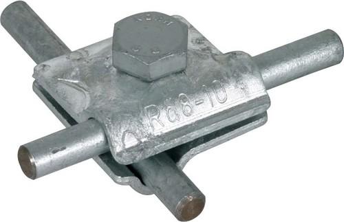 DEHN MV-Klemme St/tZn f. Rd 8-10mm MVK8.10SKM10X30STTZN