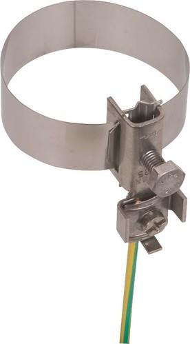 DEHN Erdungsbandrohrschelle D 26,9-114,3mm BRS27114AQ425V2A