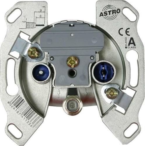 Astro Strobel Antennensteckdose 3-Loch, Einzeldose GUT 103