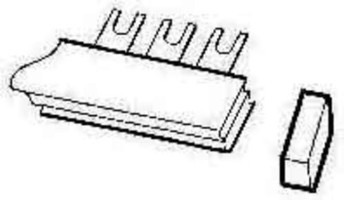 ABB Stotz S&J Endkappe für Sammelschienblo. PSB-END6