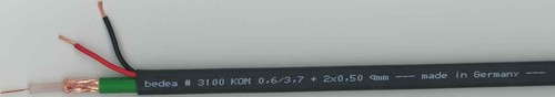 bda connectivity Video Kombi-Kabel KOM 0,6/3,7+2x0,50
