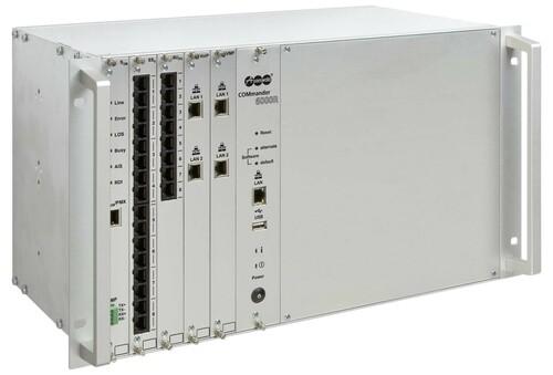 """Auerswald ISDN-Telefonanlage 482,6mm (19"""")Gehäuse COMmander 6000R"""
