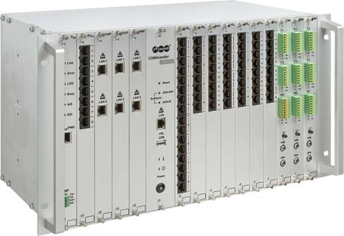 """Auerswald ISDN-Telefonanlage 482,6mm (19"""")Gehäuse COMmander 6000RX"""