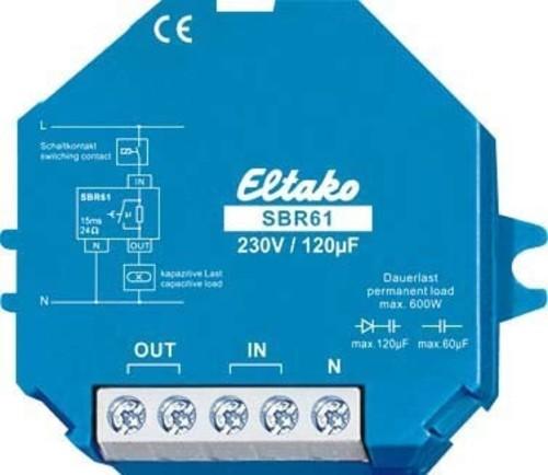 Eltako Strombegrenzungsrelais 1 Schließer 10A/250V SBR61-230V/120µF