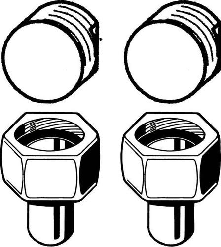 Stiebel Eltron Montageset AP f. Durchlauferhitzer 222381