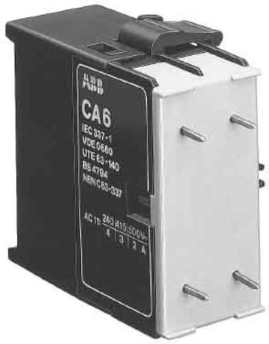 ABB Stotz S&J Hilfsschalterblock 1S/1Ö f.K6/6 CA6-11K
