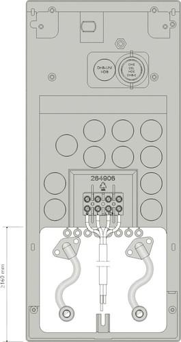 AEG Rohrbausatz Versatzmontage AEG MR 111