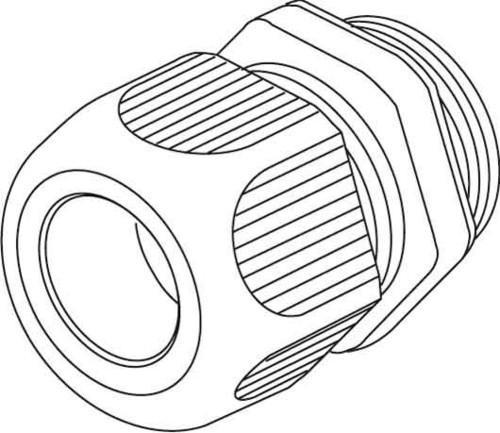 HKL Kabelverschraubung lgr,D=3-7mm,IP68 1234VM1201