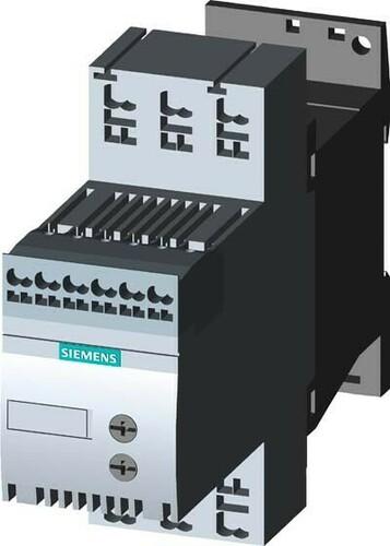 Siemens Indus.Sector Sanftstarter Sirius 400V, 40 Grd 200AC 3RW3016-2BB14