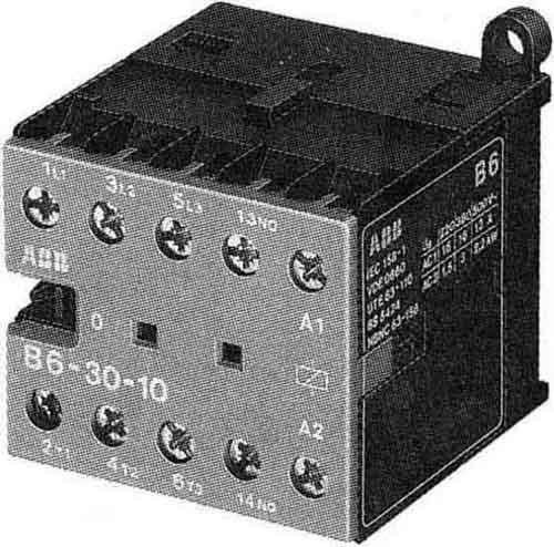 ABB Stotz S&J Schütz 48V 40/450Hz B6-30-01-03