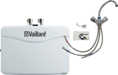 Vaillant Durchlauferhitzer-Set mini,3,5kw VED H 3/2 N +2-Griff