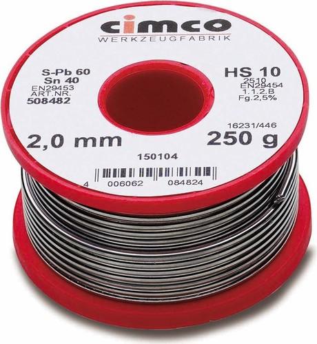 Cimco Radiolot 40% 2,0mm 250g 15 0104