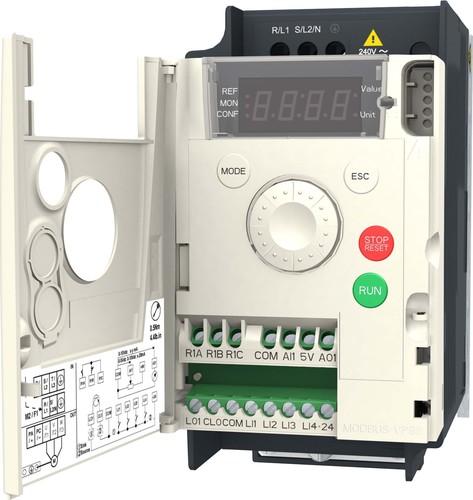 Schneider Electric Frequenzumrichter 1ph. 0,37kW 230V IP20 ATV12H037M2