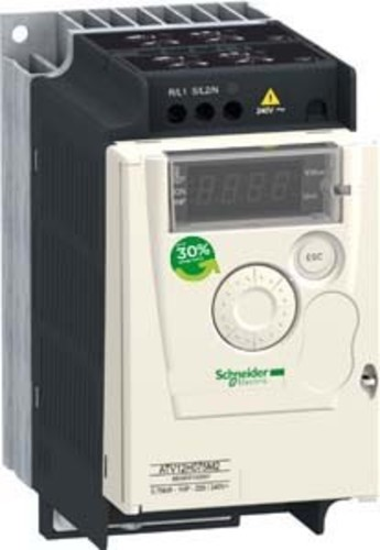 Schneider Electric Frequenzumrichter 1ph. 0,75kW 230V IP20 ATV12H075M2