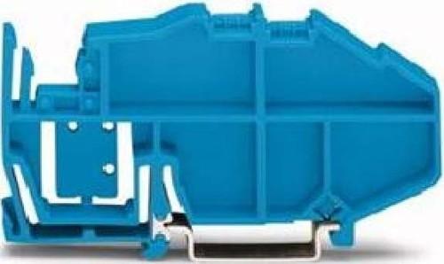 WAGO Kontakttechnik Schienenträger f. TS35 blau 777-305