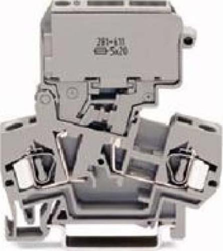 WAGO Kontakttechnik Sicherungsklemme gr 0,08-4qmm 281-611