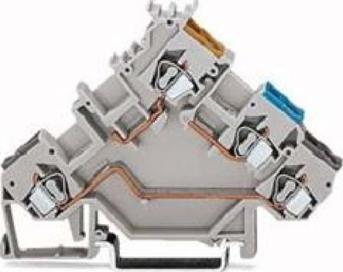 WAGO Kontakttechnik Initiatorenklemme 0,08-2,5mmq 280-560