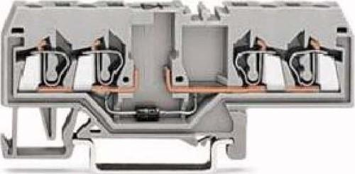 WAGO Kontakttechnik Diodenklemme 0,08-2,5mmq grau 280-655/281-411