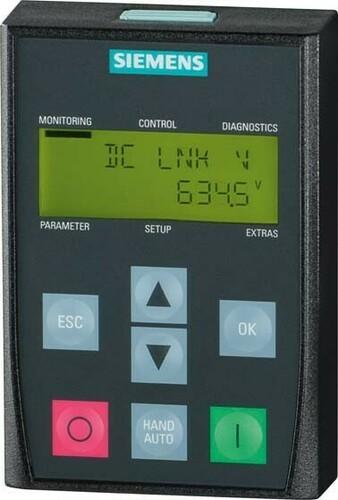 Siemens Indus.Sector Basic Operator Panel Sinamics G120 6SL3255-0AA00-4CA1
