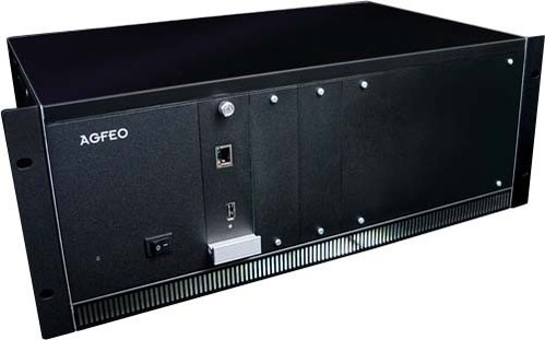 Agfeo Mod.Kommunikationssystem 19Z 4HE schwarz ES 730 IT