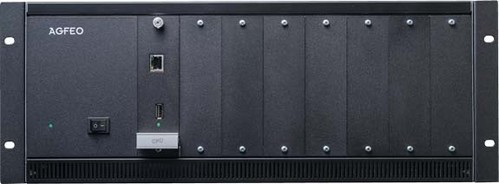 Agfeo Mod.Kommunikationssystem 19Z 4HE schwarz ES 770 IT