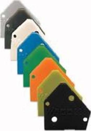 WAGO Kontakttechnik Abschlußplatte gr,f.Einzelklemmen 236-100