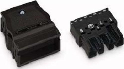 WAGO Kontakttechnik Stecker 2x0,5-4mmq schwarz 770-114