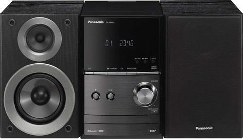 Panasonic Deutsch.CE Micro-HiFi-System DAB+,BT SCPM602EGK sw