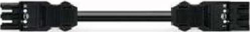 WAGO Kontakttechnik Verbindungsleitung 3x1,5mmq schwarz 771-9993/006-201