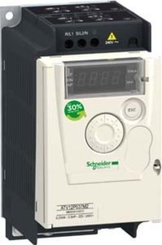Schneider Electric Frequenzumrichter 1ph, 100V, 0,37kW ATV12P037F1