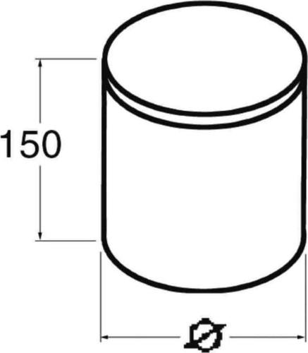 Niedax Brandschutz-Stopfen BSS 90/50