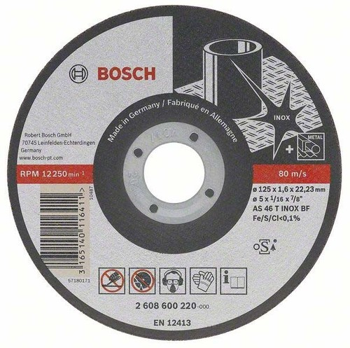 Bosch Power Tools Trennscheibe 115x1mm 2608602220