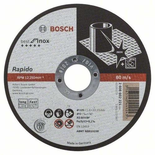 Bosch Power Tools Trennscheibe 125x1mm 2608602221