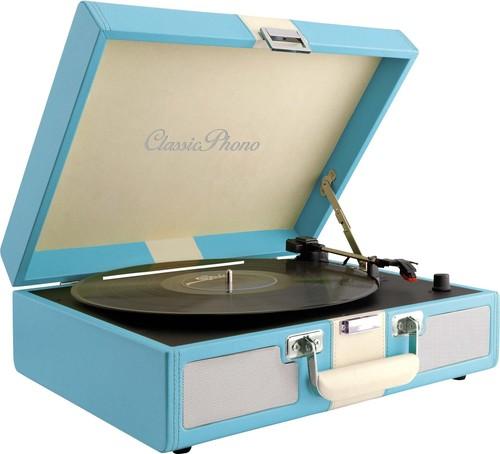 Lenco Plattenspieler TT-33 BLUE