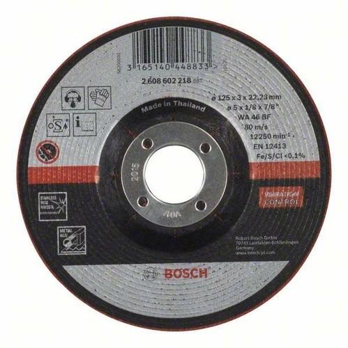 Bosch Power Tools Schruppscheibe 125x3mm 2608602218