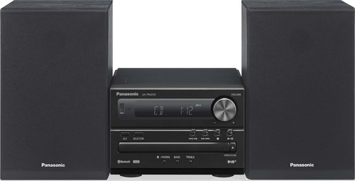 Panasonic Deutsch.CE Micro-HiFi-System DAB+,BT SCPM254EGK sw