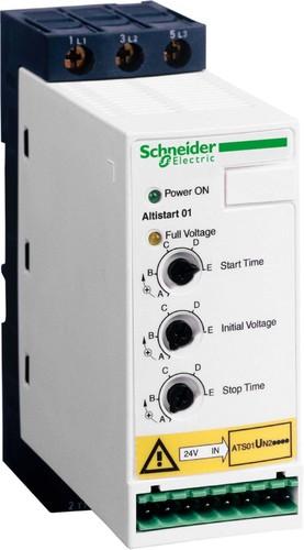 Schneider Electric Sanftanlasser 2,2KW,3x380-415V,6A ATS01N206QN