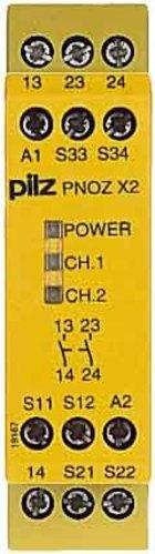 Pilz Not-Aus-Schaltgerät 24VAC/DC 2n/o PNOZ X2 #774303