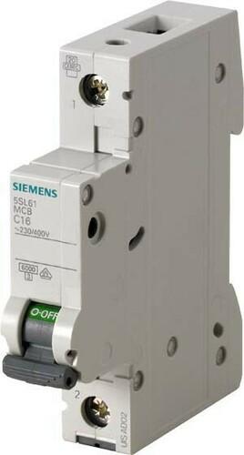 Siemens Indus.Sector LS-Schalter B10A, 1pol 5SL6110-6