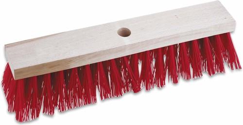 Cimco Straßenbesen ohne Stiel Farbe rot, 400mm 14 3024