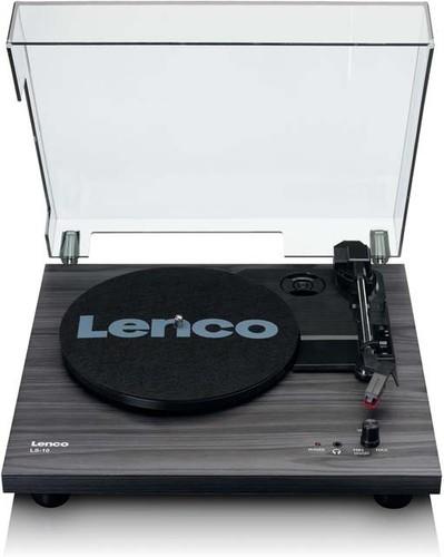 Lenco Plattenspieler Holzgehäuse LS-10 Black