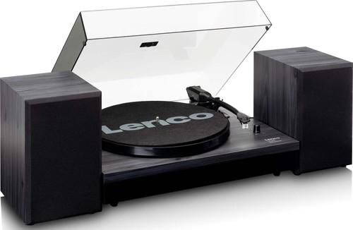 Lenco Plattenspieler Holzgehäuse LS-300 Black