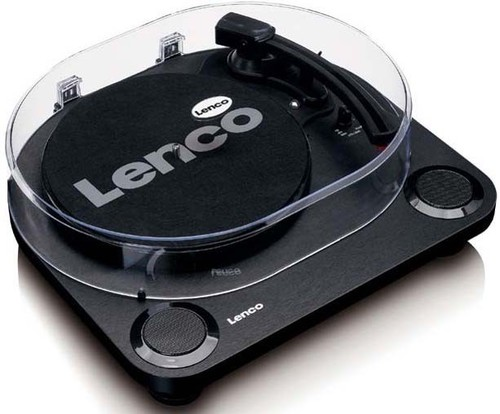 Lenco Plattenspieler Holzgehäuse LS-40 Black