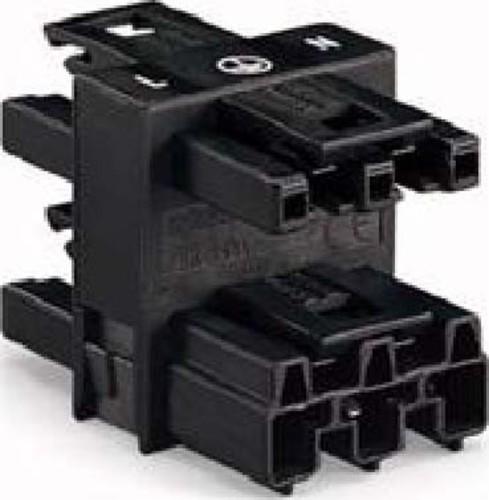 WAGO Kontakttechnik Verteiler 250V 25A 3p. schwarz 770-607