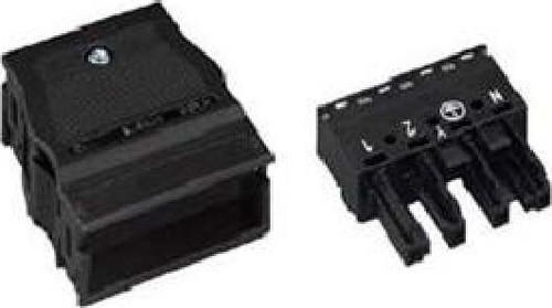 WAGO Kontakttechnik Buchse 2x0,5-4mmq weiß 770-124