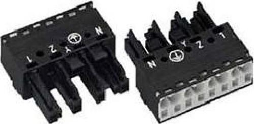 WAGO Kontakttechnik Buchse 2x0,5-4mmq weiß 770-224